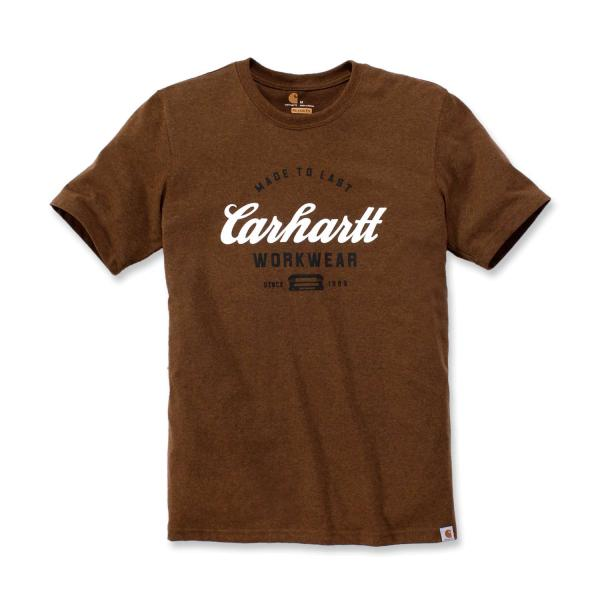 CARHARTT MADE TO LAST S/S T-SHIRT HERREN