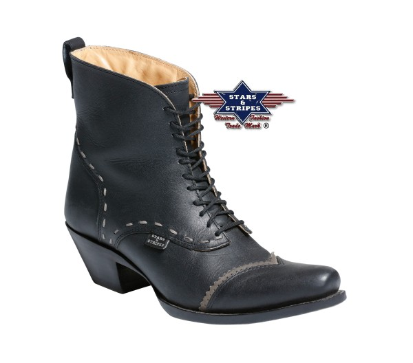 Cowboystiefel Line Dance Stiefel ASHLEY BLACK