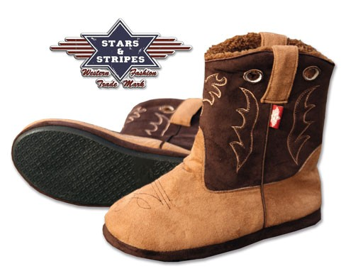 Cowboystiefel Stars & Stripes FLUFFY