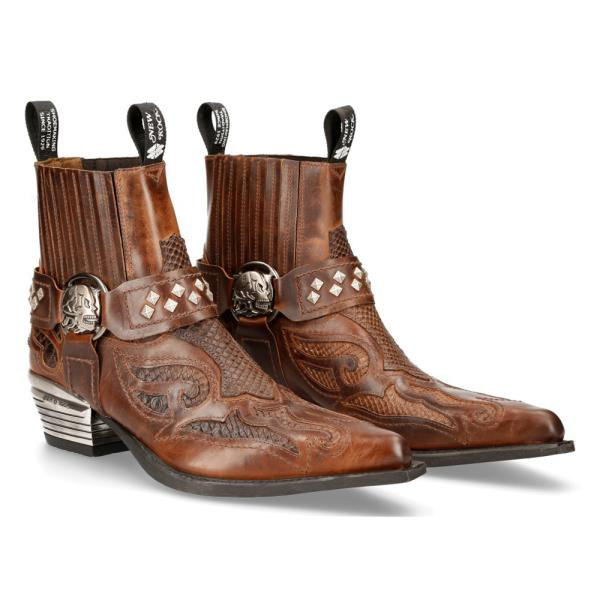 Cowboystiefel Ankle Boot WEST M-WST005-C3